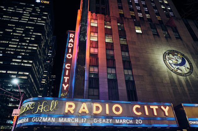 USA / New York City / 06.03.2018 /  Radio City Music Hall as part of the Rockefeller Center.