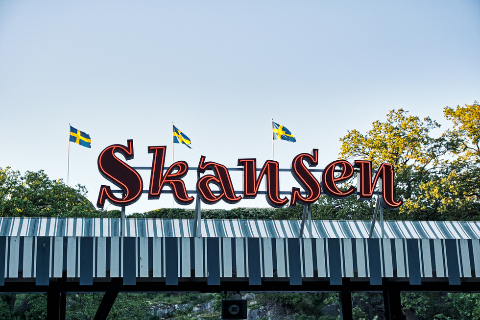 SWEDEN / Stockholm / 21.06.2019 / Skansen is the world`s oldest open air museum showcasing Sweden´s history by walking through historical houses and farmsteads from 1720 onwards. © Gregor Kallina