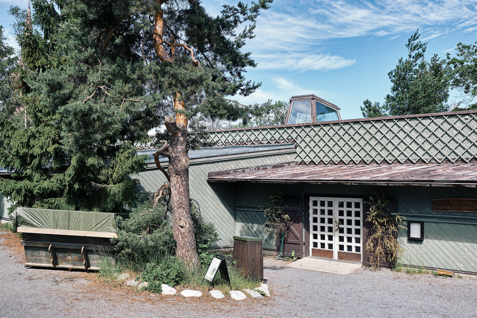 SWEDEN / Stockholm / 21.06.2019 / The Forestry Centre at Skansen, the world`s oldest open air museum. It is primarily an educational facility but it also functions as a workshop for children making decoration on the Christmas and Easter holidays. © Gregor Kallina