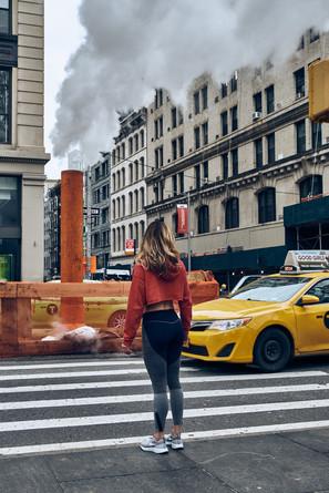 USA / New York City / 04.03.2018 /  Street scene on Broadway.
