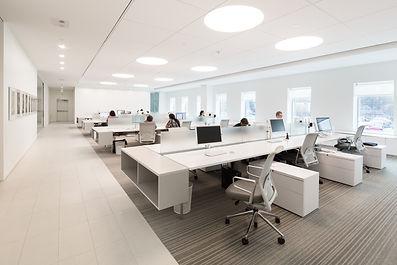 modern open office