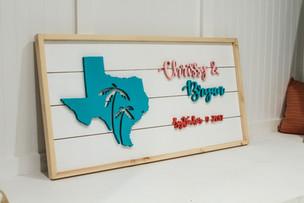 Custom Home Decor Sign