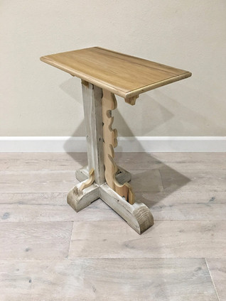Poplar / Fir Rustic Occasional Table