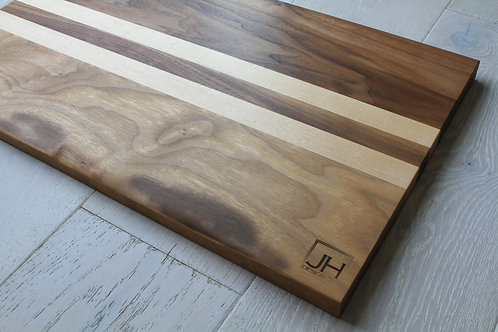 Large Walnut & Maple Cutting Board