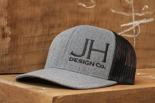 Gray Snapback Logo Hat