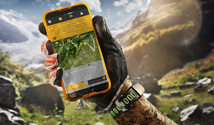 Sport.Tourism. GPS navigator in hand.jpg
