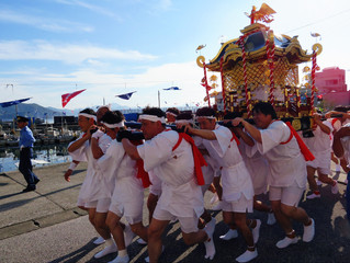 保戸島夏祭り~御神輿~