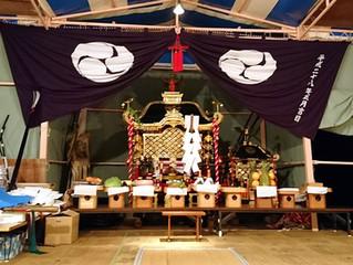 保戸島夏祭り初日終了