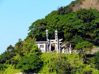 保戸島加茂神社で初詣