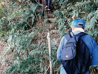 遠見山を守ろう会による登山道整備!
