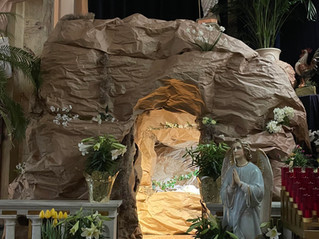 Church visitors transported to Biblical times in tomb experience