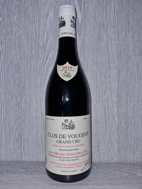 Clos de Vougeot Grand Cru 2019 (75cl) - Domaine JM Guillon&Fils