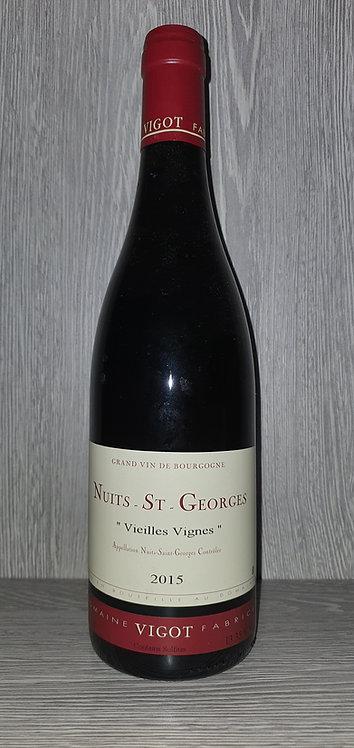 Nuits-St-Georges Vieilles Vignes 2015 (75 cl) - Domaine Fabrice Vigot