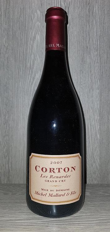 Corton Grand Cru Les Renardes 2007 (75 cl) - Domaine Michel Mallard et Fils