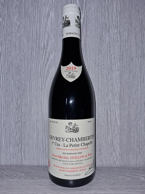 Gevrey-Chambertin 1er Cru La Petite Chapelle 2019 (75cl)-Domaine JM Guillon&Fils