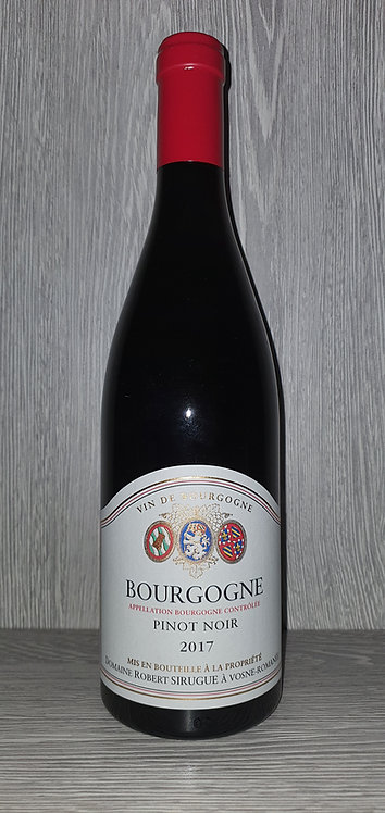 Bourgogne 2018 (75 cl) - Domaine Robert Sirugue