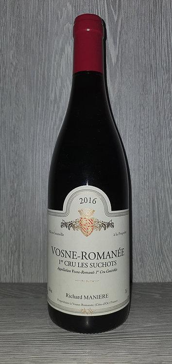 Vosne-Romanée 1er Cru Les Suchots 2016 (75 cl) - Domaine Richard Manière