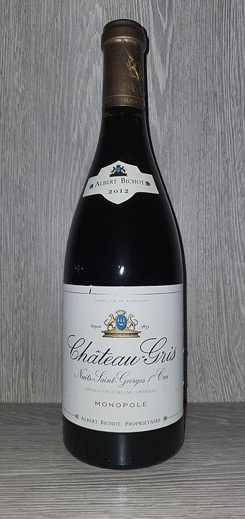 Château-Gris Nuits-Saint-Georges 1er Cru 2012 (75 cl) - Domaine Albert Bichot