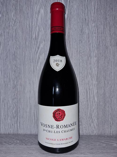 Vosne-Romanée 1er Cru Les Chaumes 2018 (75cl) - Domaine Nicole Lamarche