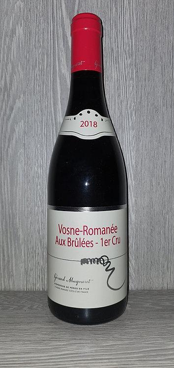 Vosne-Romanée Aux Brûlées 1er Cru 2018 (75 cl) - Domaine Gérard Mugneret
