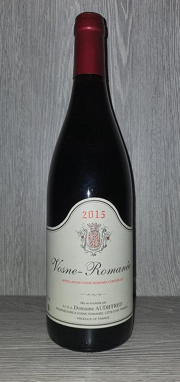 Vosne-Romanée 2018 (75 cl) - Domaine Audiffred