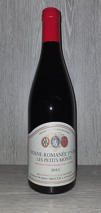 Vosne-Romanée 1er Cru Les Petits Monts 2011 (75 cl) - Domaine Robert Sirugue
