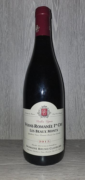 Vosne-Romanée 1er Cru Les Beaux Monts 2013 (75 cl) - Bruno Clavelier