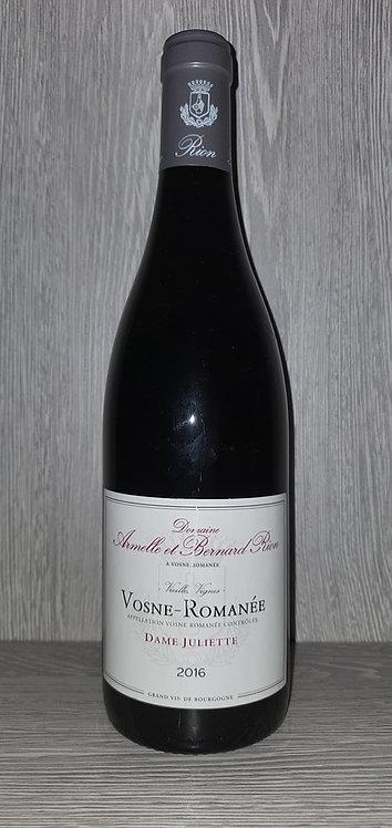 Vosne-Romanée Dame Juliette 2016 (75 cl) - Domaine A & B Rion