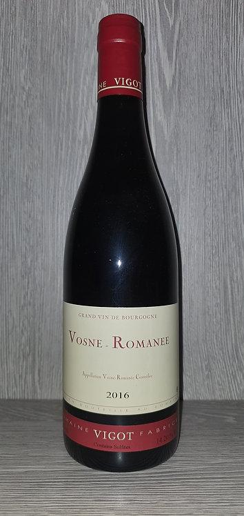Vosne-Romanée 2016 (75 cl) - Domaine Fabrice Vigot