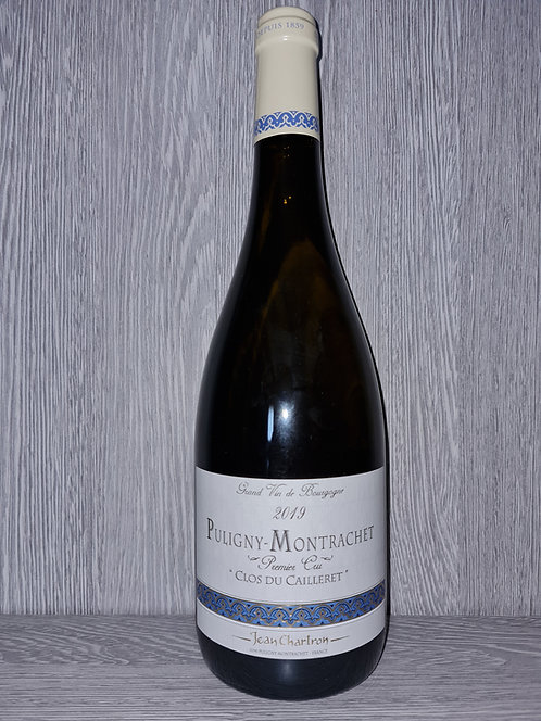 """Puligny-Montrachet 1er Cru """"Clos du Cailleret"""" 2019 (75 cl) - Domaine J.Chartron"""