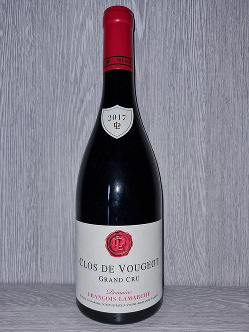 Clos de Vougeot Grand Cru 2017 (75 cl) - Domaine François Lamarche