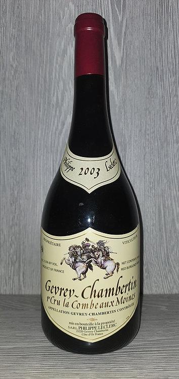 Gevrey-Chambertin 1er Cru La Combe aux Moines 2003(75 cl) - Domaine P. Leclerc