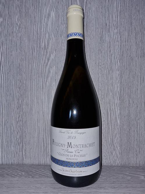 """Puligny-Montrachet 1er Cru """"Clos de la Pucelle"""" 2019 (75 cl)-Domaine J.Chartron"""