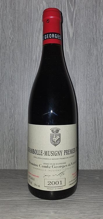 Chambolle-Musigny 1er Cru 2001 (75 cl) - Domaine Comte Georges de Vogüe