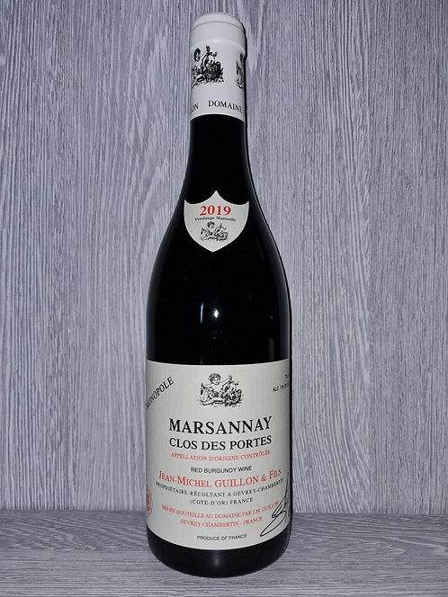Marsannay Clos des Portes Monopole 2019 (75cl) - Domaine JM Guillon&Fils
