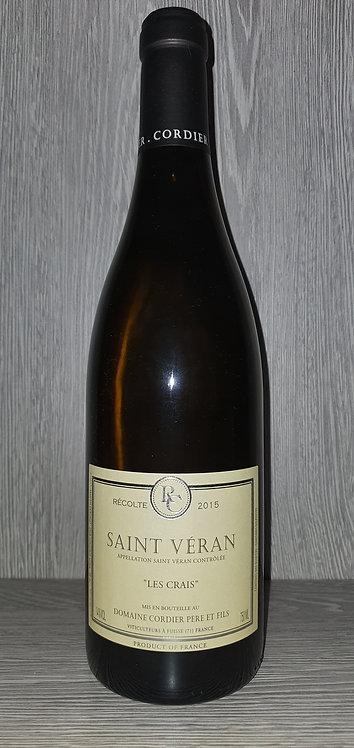 Saint Véran les Crais 2017 (75 cl) - Domaine Cordier Père et Fils