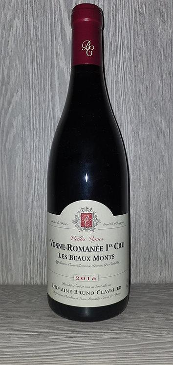 Vosne-Romanée 1er Cru Les Beaux Monts 2015 (75 cl) Bruno Clavelier