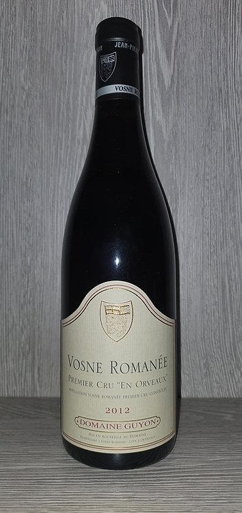 Vosne-Romanée 1er Cru En Orveaux 2012 (75 cl) - Domaine Jean-Pierre Guyon