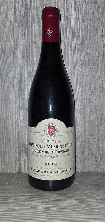 Chambolle-Musigny 1er Cru La Combe d'Orveaux 2012 (75 cl) - Bruno Clavelier
