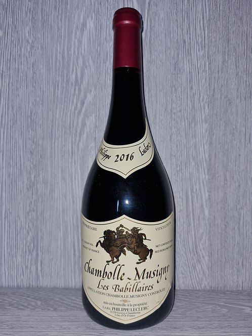 """Chambolle-Musigny """"Les Babillaires"""" 2016 (75 cl) - Domaine P. Leclerc"""