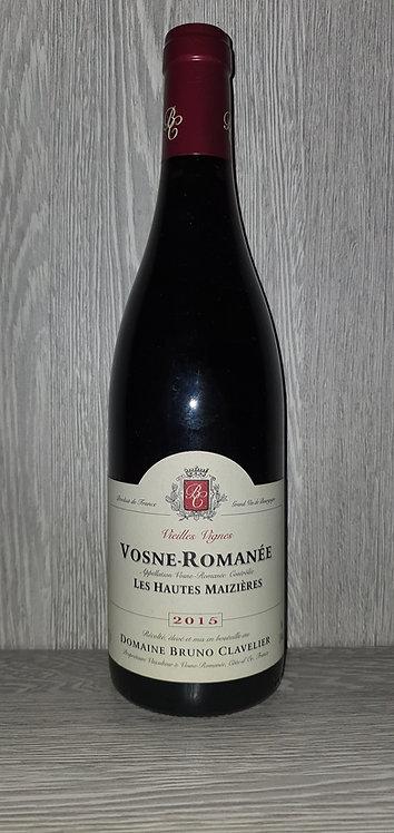 Vosne-Romanée Les Hauts Maizières Vieilles Vignes 2015 (75 cl) - Bruno Clavelier