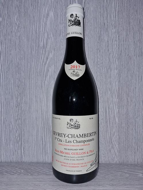 Gevrey-Chambertin 1er Cru Les Champonnets 2017 (75cl) - Domaine JM Guillon&Fils