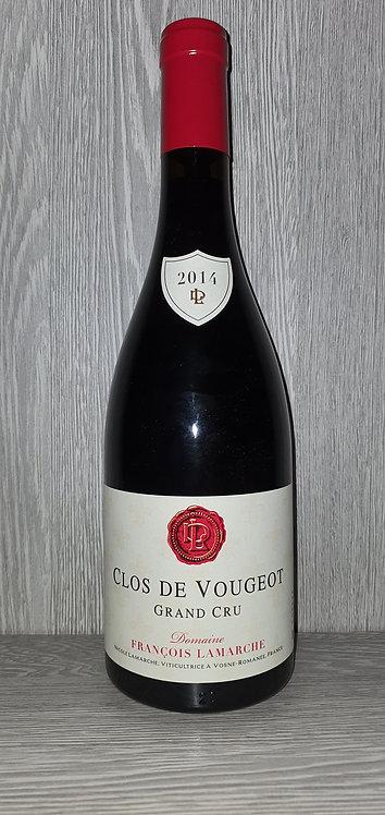 Clos de Vougeot Grand Cru 2014 (75 cl) - Domaine François Lamarche