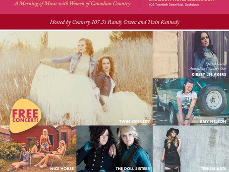 #WCW Playlist: Women of Canadian Country!