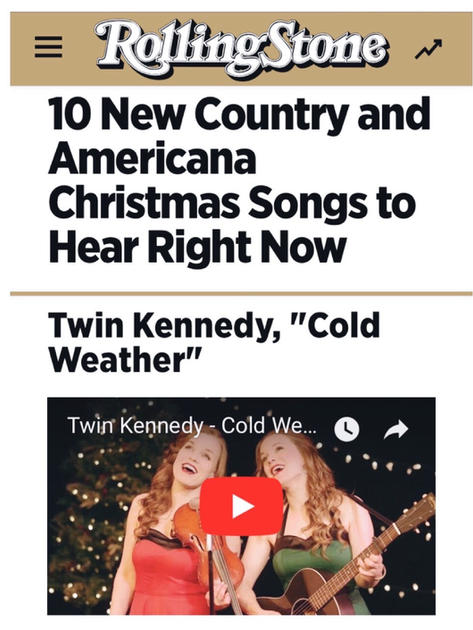 Twin Kennedy in Rolling Stone Country