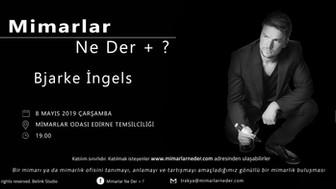 Bjarke İngels  Bu Çarşamba Trakya Üniversitesi'nde Konuşuluyor!