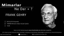 Frank Gehry, Perşembe Günü Kocaeli Üniversitesi'nde Konuşuluyor!