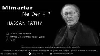 Kocaeli Üniversitesi Sezonun İlk Buluşmasında  Hassan Fathy'i  Konuşucak!