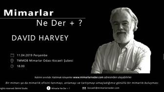 David Harvey Kocaeli Üniversitesi'nde Konuluşuluyor !