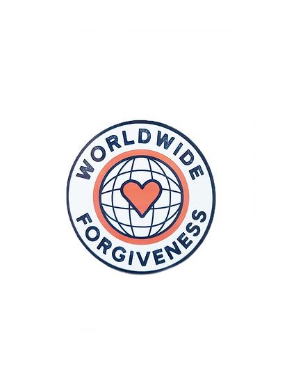 Worldwide Forgiveness Sticker
